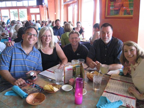 Miguel, Ann, Wes, Doug, and Cathy