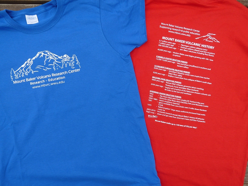 Mt baker volcano research center t shirt fundraiser for T shirt fundraiser site